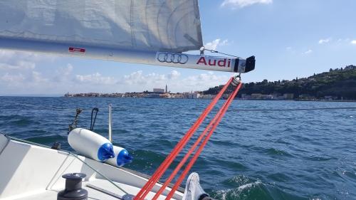 Erste Skippererfahrung auf J24