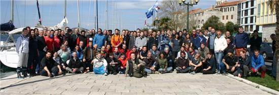 NCA Übungstörn 2015 Mole Sibenik